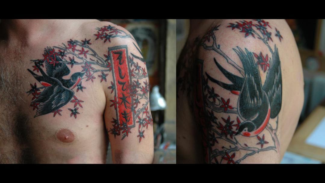 Keithtattoo Tatouage Japonais Japanese Tattoo Lyon France